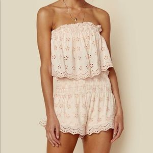 Winston White Lucca Top & Lucca Short SET size S